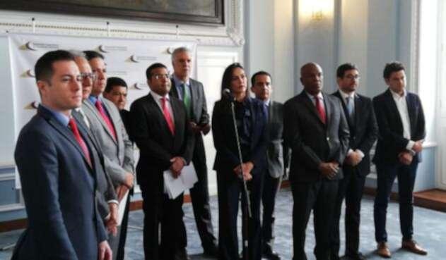 El alcalde de Bogotá insistió en en la necesidad de hacer una reforma a la justicia.