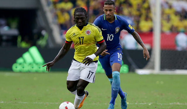 Yimmi Chará, volante excluido de la Selección Colombia para Rusia 2018 pero está en el álbum de Panini