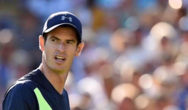 El tenista Andy Murray en su regreso a las canchas después de un año de ausencia por lesión