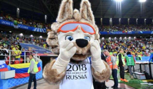 Zabivaka, la mascota oficial de la Copa Mundial de la FIFA Rusia 2018