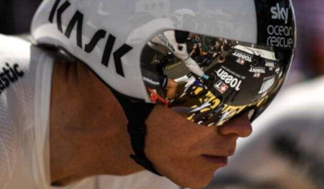 Chris Froome, ciclista británico del Sky