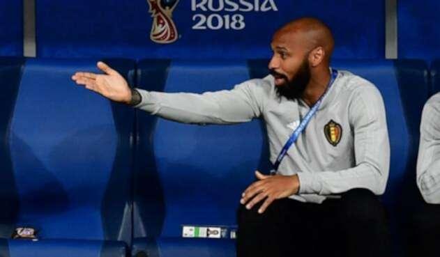 Thierry Henry trabajó de la mano de Roberto Martínez en la selección de Bélgica