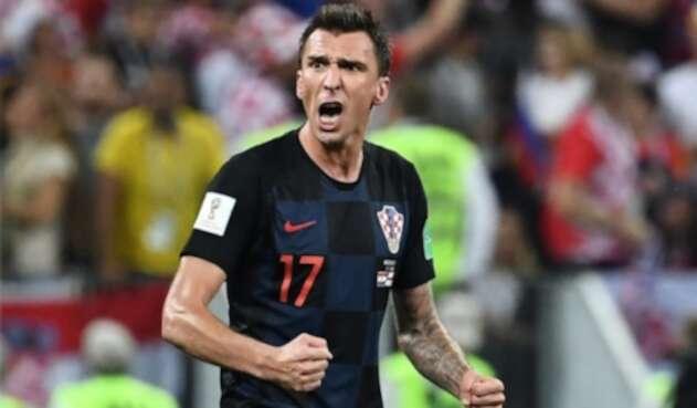 MarioMandžukić anotó el gol definitivo ante Inglaterra