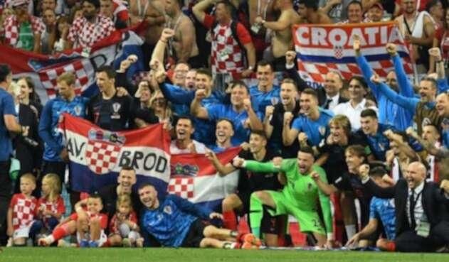 Croacia venció a Inglaterra en la semifinal