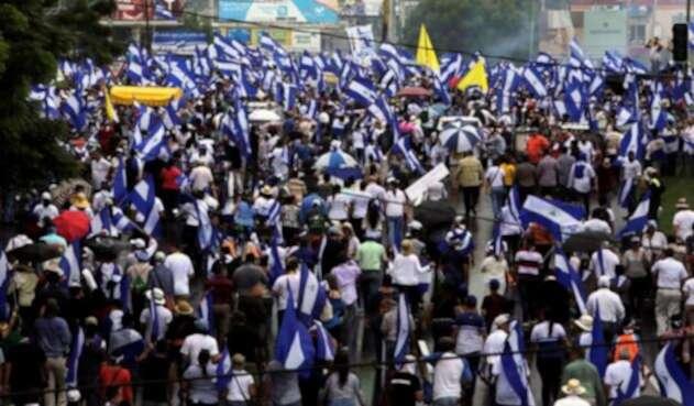 Protestas en Nicaragua contra el gobierno de Daniel Ortega.