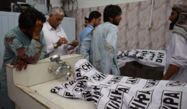 El atentado al suroeste dePakistán fue reivindicado por el grupo yihadista Estado Islámico.