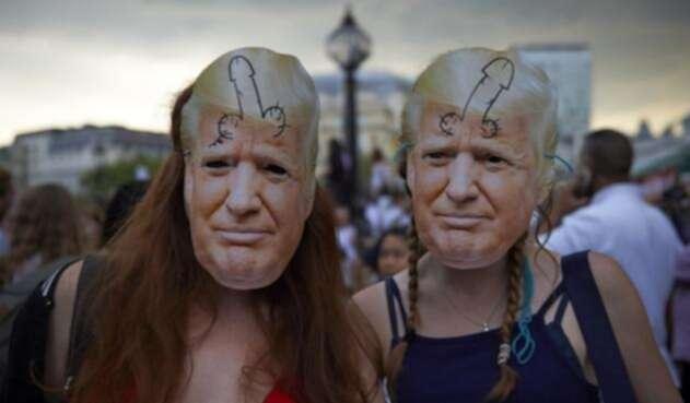 Protestas en contra Donald Trump