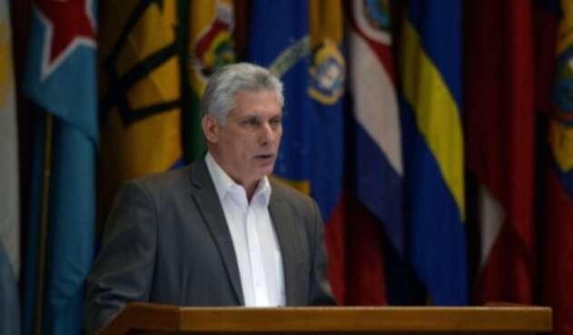 Miguel Diaz-Canel, presidente de Cuba