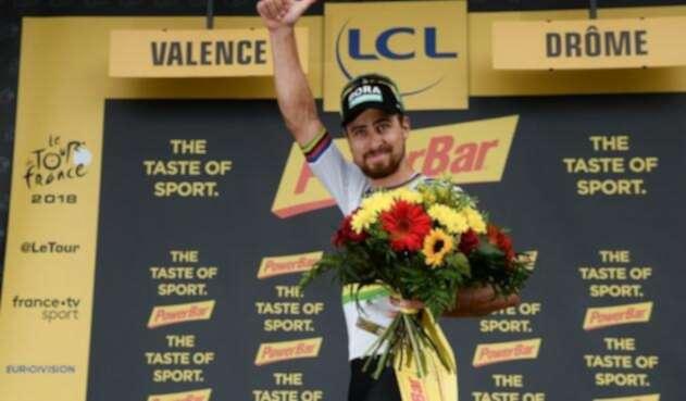 Peter Sagan conquistó la etapa 13 de la competencia