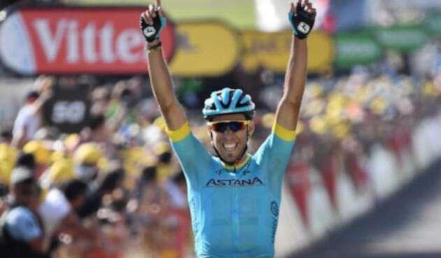 Omar Fraile ganó la etapa 14