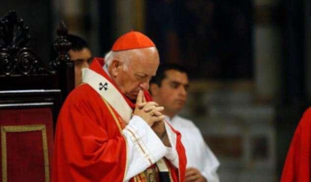 El arzobispo de Santiago, cardenal Ricardo Ezzati.