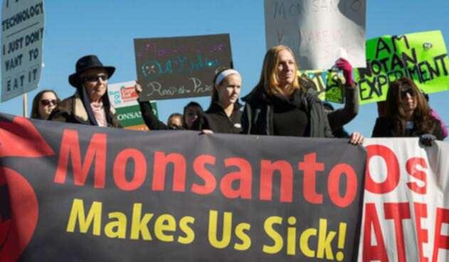 Protestas contra Monsanto en EE.UU.