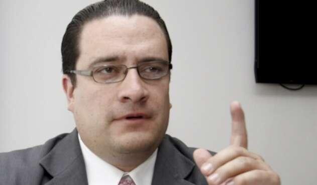 El abogado Iván Cancino