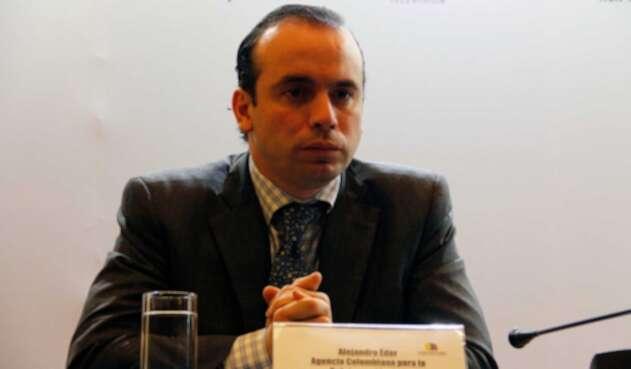 Alejandro Eder, exdirector de la Agencia Colombiana para la Reintegración