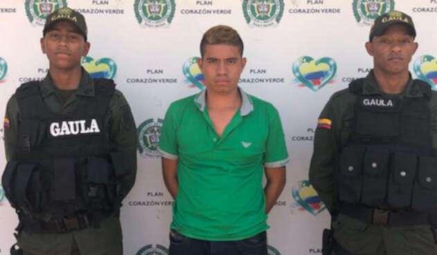 Alias Reinel, uno de los responsables de la custodia de los tres integrantes del diario El Comercio