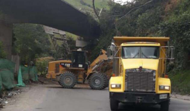 Los trabajos en la zona para habilitar el paso en el Alto de La Línea