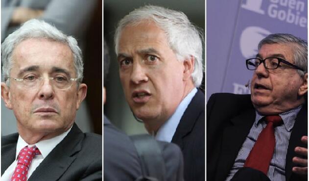 Álvaro Uribe, Samuel Moreno y César Gaviria