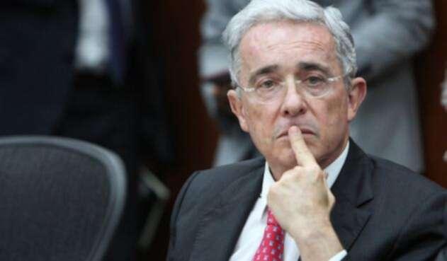 El expresidente Álvaro Uribe Vélez