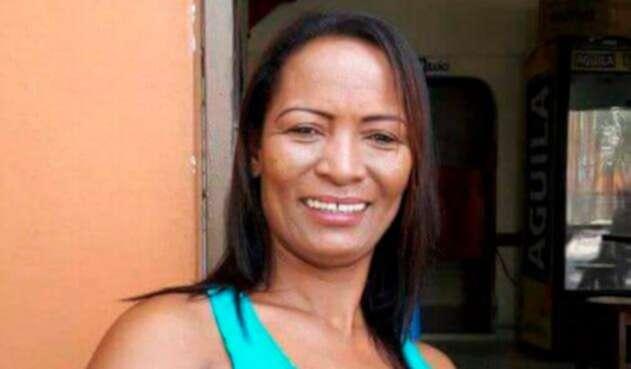 Ana María Cortés, líder social asesinada en Cáceres (Antioquia)