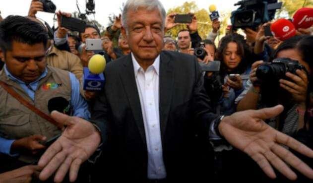 Andrés Manuel López Obrador, nuevo presidente de México