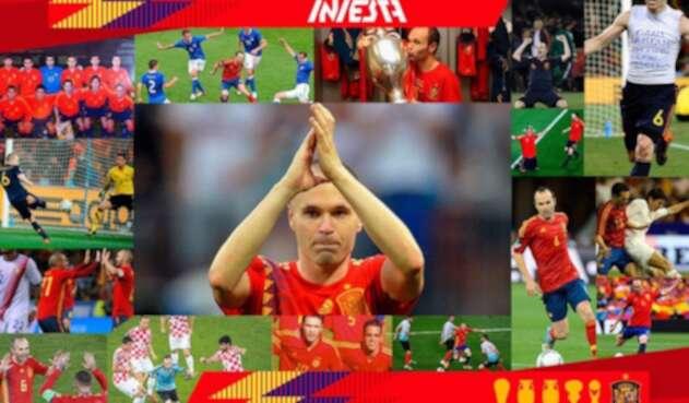 La imagen que compartió Andrés Iniesta de su despedida