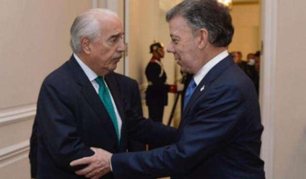 Andrés Pastrana y Juan Manuel Santos, hoy enfrentados por Odebrtecht
