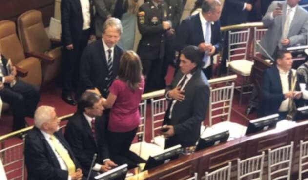 Tanto la Alianza Verde como la Colombia Humana se declararon en oposición el entrante gobierno