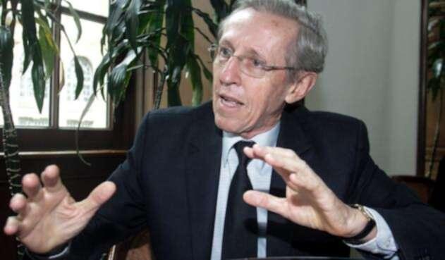 Antonio Navarro Wolff, candidato a la Alcaldía de Bogotá
