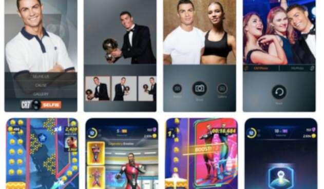 Cristiano y Zlatan protagonizan algunas de las apps