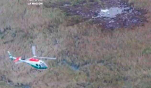 El accidente aéreo en Ayolas, en Paraguay