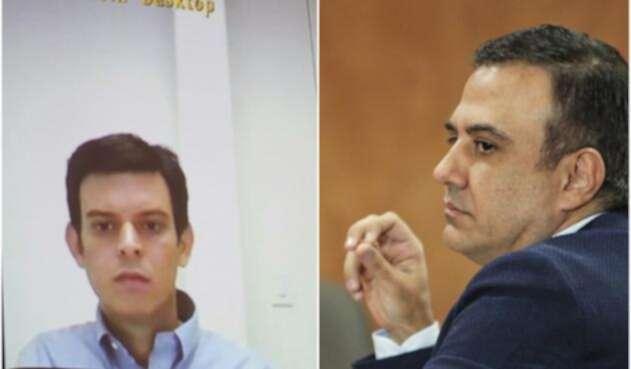 Alejandro Lyons y Edwin Besaile