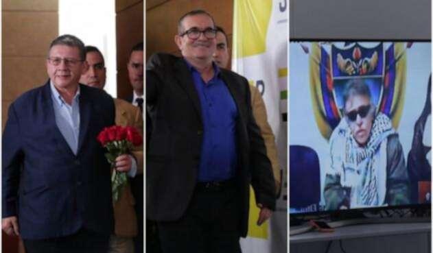 Solo cuatro de los 32 exjefes de las Farc comparecieron ante la JEP