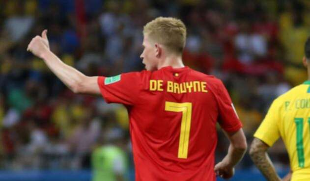 Kevin De Bruyne Bélgica Brasil