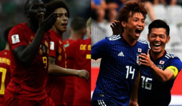Bélgica Vs Japón