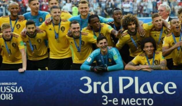 La Selección de Bélgica, tercera en Rusia 2018