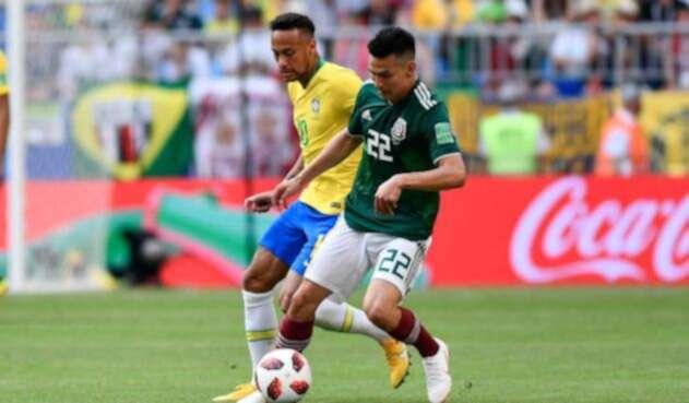 Brasil vs México en el Samara Aerena