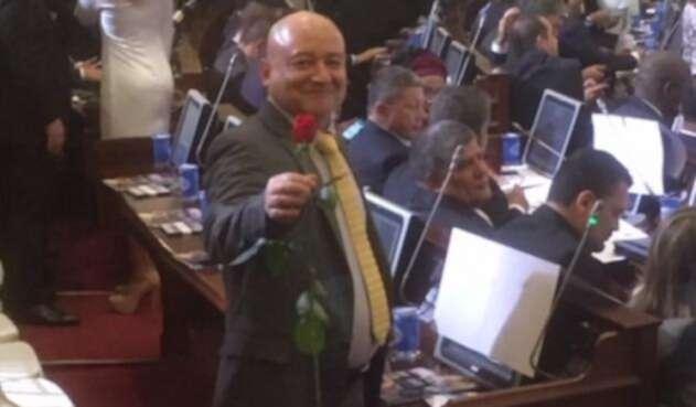 Carlos Antonio Lozada, nuevo congresista de la Farc.