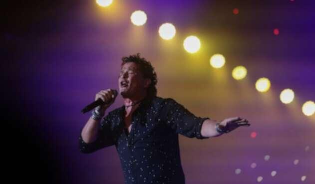 El cantante Carlos Vives