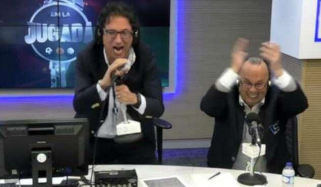 Antonio Casale y Hernán Peláez