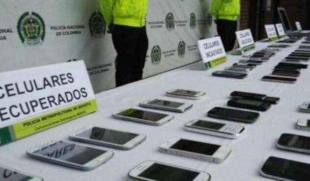 Los celulares se vendían a extranjero por un valor de 2 millones de pesos