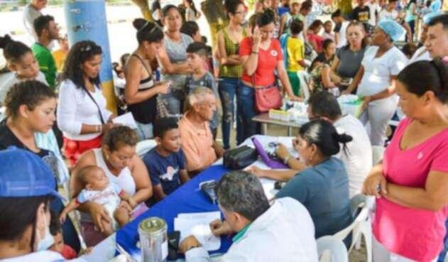 Políticas para venezolanos registrados en Colombia