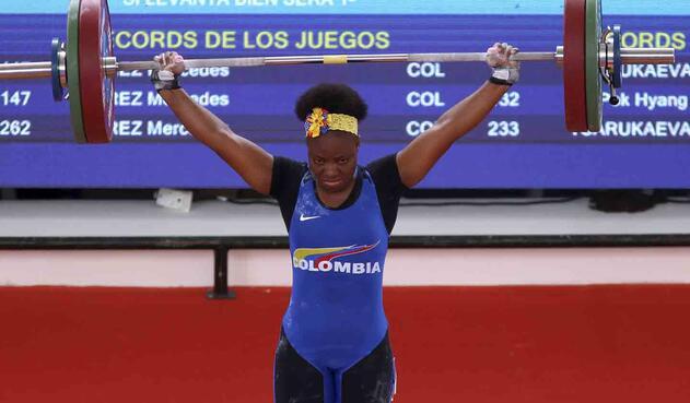 Las pesas le siguen dando alegrías al deporte colombiano