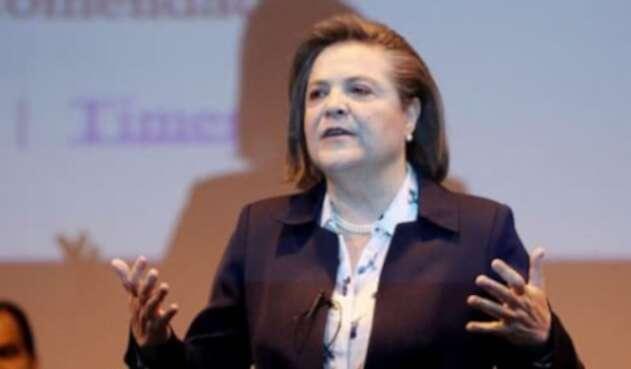 Clara López, excandidata vicepresidencial.