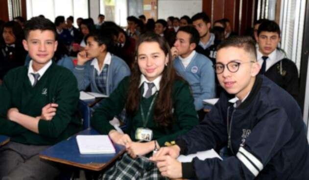 Desención escolar en Bogotá