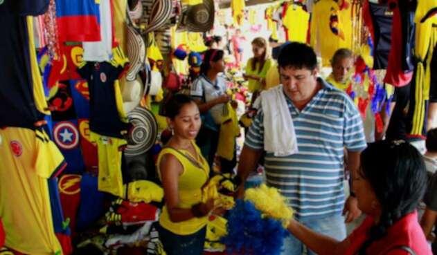 El comercio en Barranquilla en época mundialista