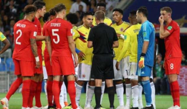 Colombia vs Inglaterra en Rusia 2018
