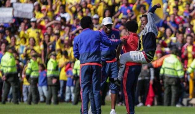 La Selección arribó a Bogotá tras su participación en Rusia 2018