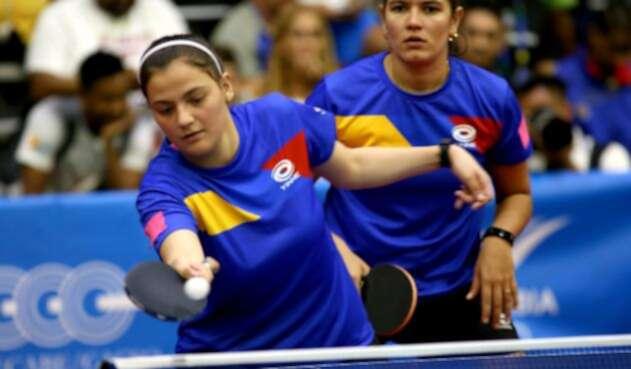 Colombia vs México – Tenis de Mesa Dobles Femenino