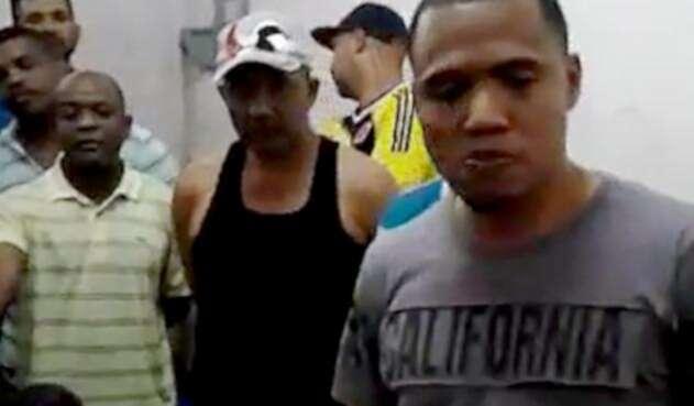 Colombianos presos en Caracas, Venezuela