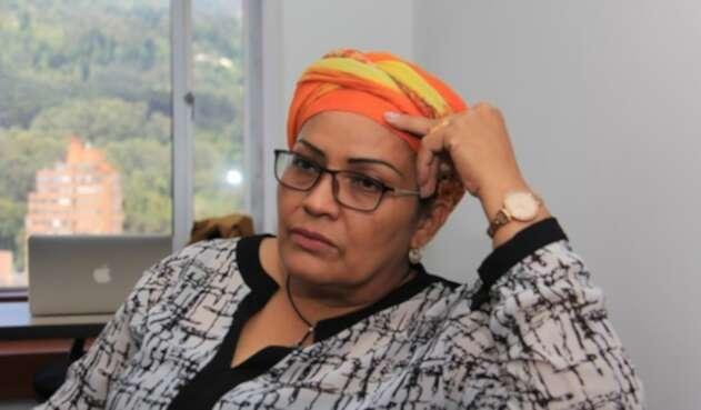 Victoria Sandino, dirigente política del Partido Farc